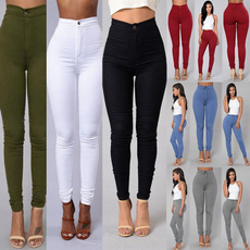 Leggings, Fashion, skinny pants, candy color