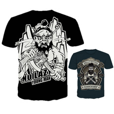 Mens T Shirt, Personalized T-shirt, 3dprintedtshirt, skulltshirt
