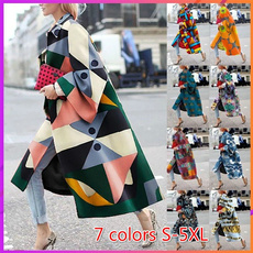 Plus Size, Colorful, Sleeve, Long Sleeve