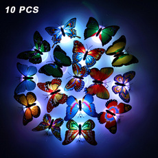 butterfly, giftsforkid, Night Light, Colorful