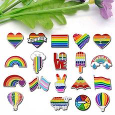 lovebrooch, colorfulbrooch, heartbrooch, Jewelry