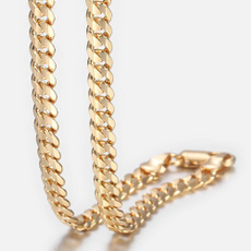 yellow gold, Chain Necklace, Jewelry, Chain