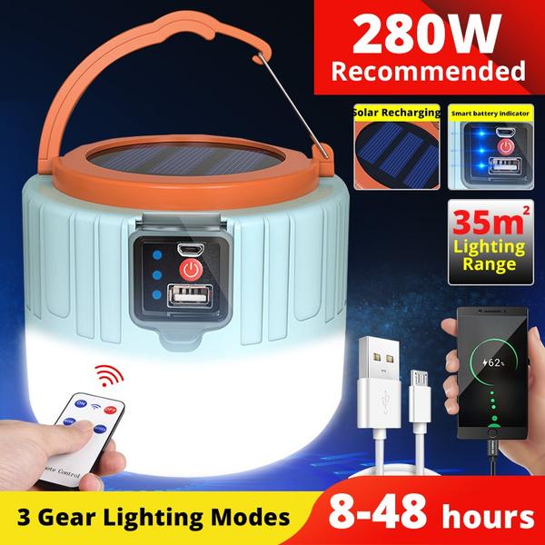 Light Bulb, campinglight, led, usb