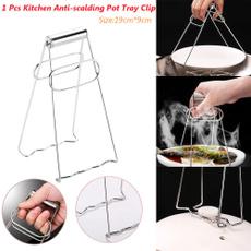 potclipholder, Steel, Kitchen & Dining, folding