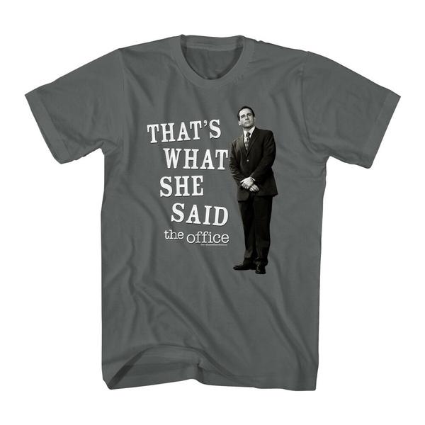 what, said, Shirt, Office
