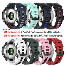 garminfenix6sband, garminfenix3band, garminfenix6xpro, Silicone