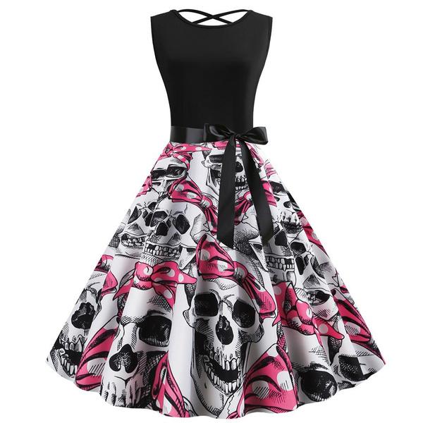 party, Pins, skull, Dresses