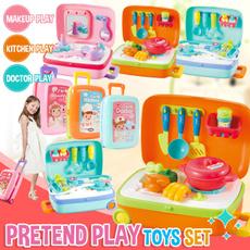Box, Toy, Makeup Sets, Kids Toy