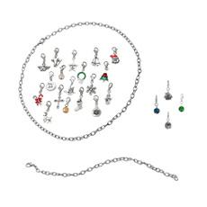 Charm Bracelet, Set, Jewelry, Bracelet