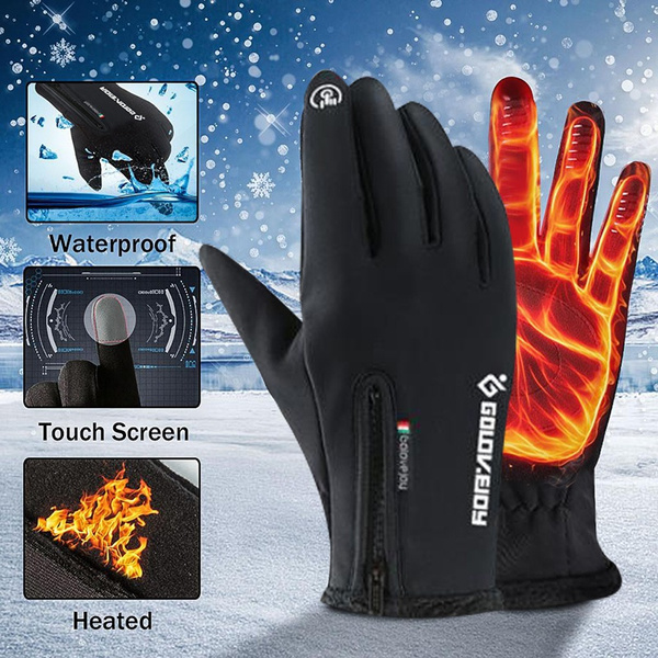 Touch Screen, handschoenenzwart, Waterproof, Gloves