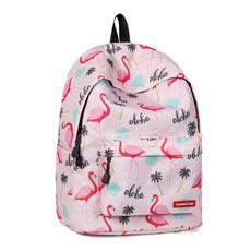 flamingopattern, Shoulder Bags, Backpacks, rucksack