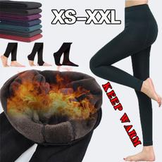 Fleece, Warm Leggings, velvet, Fashion