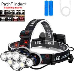 Flashlight, Head, LED Headlights, led