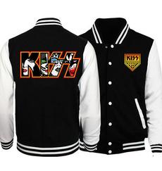 Casual Jackets, Fashion, rockbandjacket, kissband