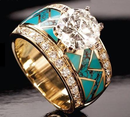 Turquoise, Fashion, gold, Women's Fashion