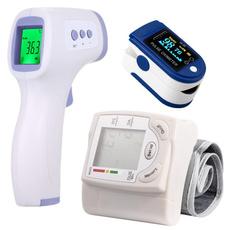 thermometergun, Monitors, infraredforeheadthermometer, fingeroximeter