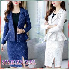 Woman, Coat, Dress, Temperament