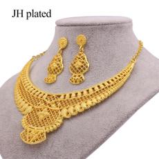 weddingnecklaceearringsset, womenampgirlsampampampampladiesjewelryset, ethiopiagoldjewelrysetsforwomen, Earring