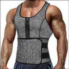 Vest, saunasweatsuit, Tank, waisttrainercorset