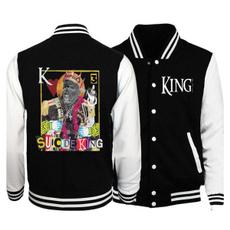 Casual Jackets, king810baseballuniformjacket, Fashion, Sleeve