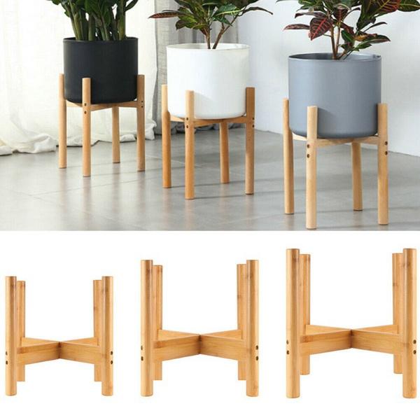woodenstand, planterstand, plantstand, planter