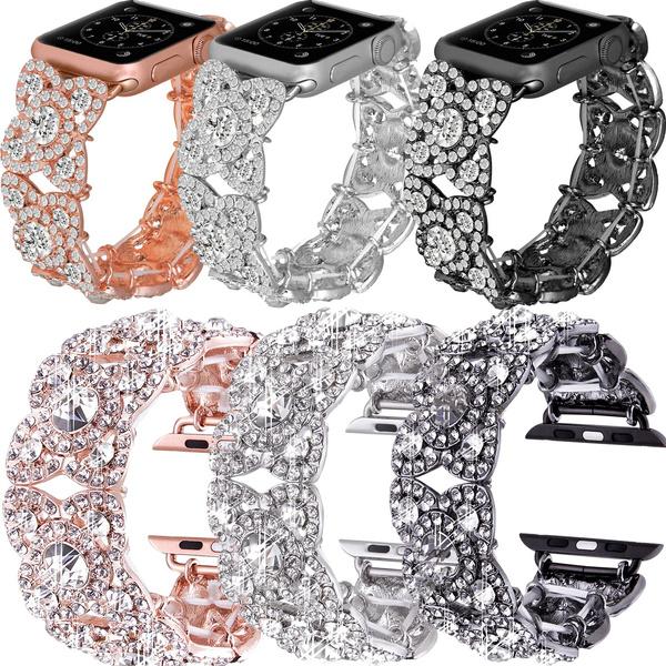 Crystal Bracelet, wristwatchstrapband, Bling, Apple