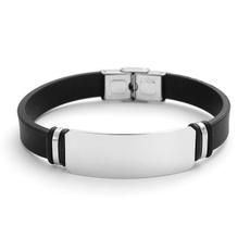 Charm Bracelet, Steel, Jewelry, stainlesssteelbracelet