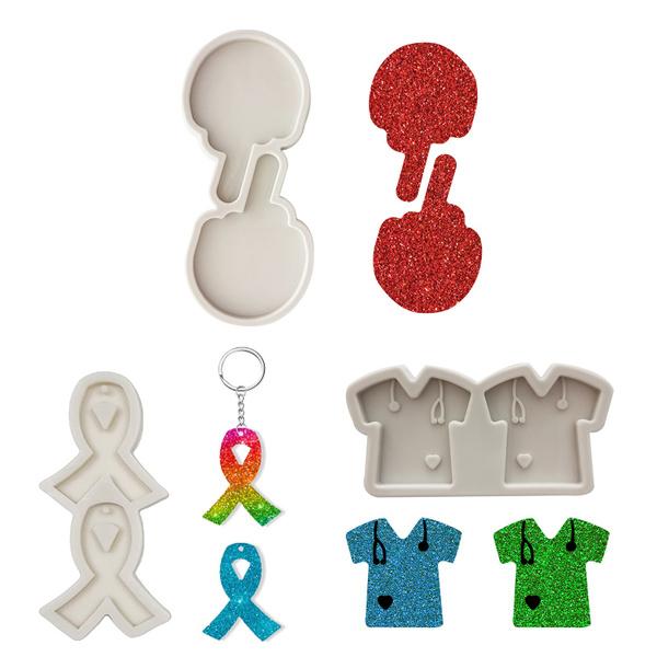polymer, Key Chain, Jewelry, Silicone
