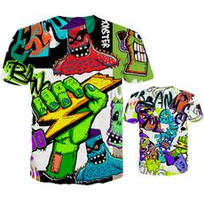 Mens T Shirt, ladiestshirt, short sleeved tshirt, monsterprinttshirt