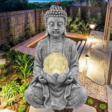 buddhaornament, buddhastatue, art, Garden