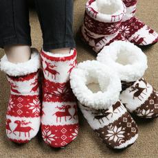 Slippers, cottonslippersforwomen, Christmas, houseslippersforwomen