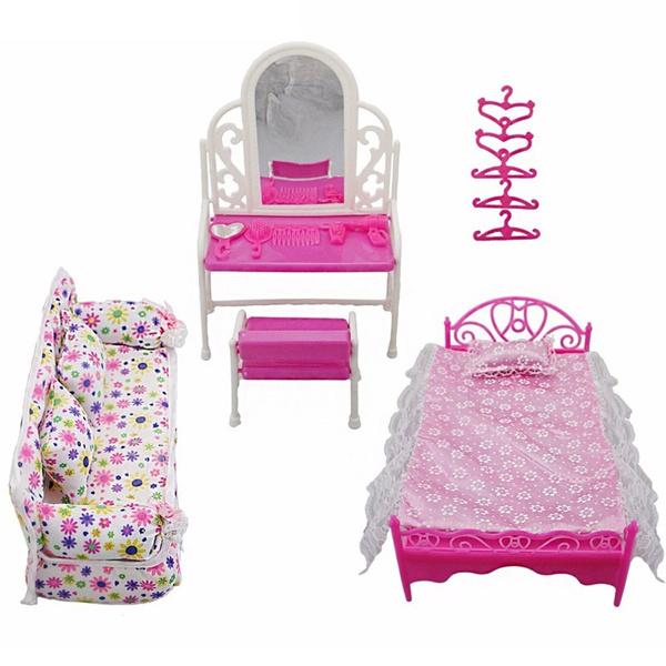 kids, Toy, dollsofa, toyset