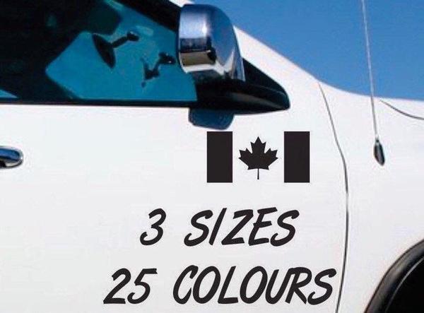 Canada, Car Sticker, windowsticker, laptopdecal