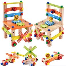 disassemblyassemblytoy, assembling, Wooden, earlylearning