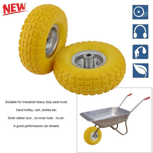 Wheels, Flats, Garden, rubbertyre