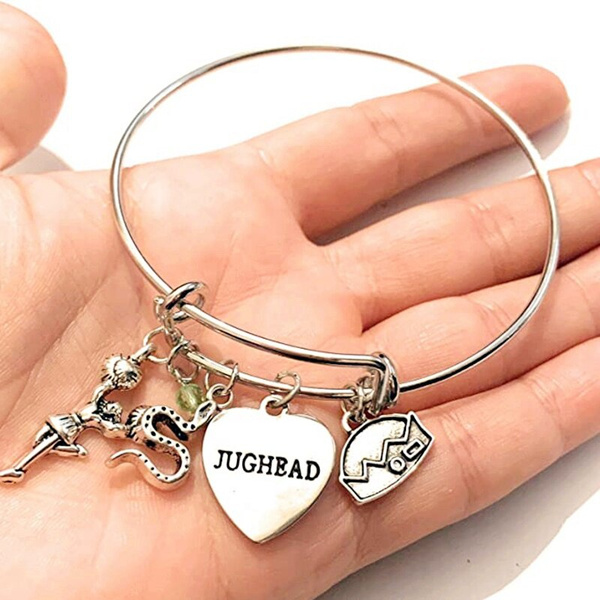 Charm Bracelet, jughead, Jewelry, Bangle