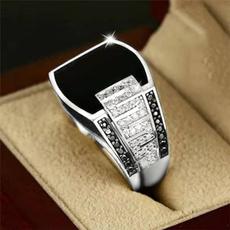 Sterling, ringsformen, DIAMOND, wedding ring