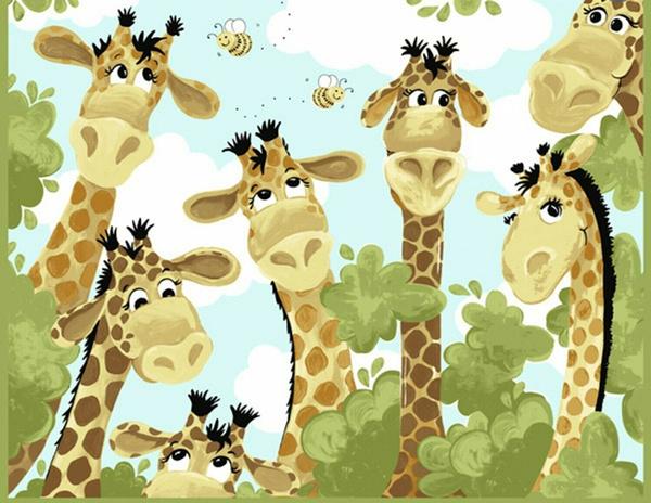 opensky, giraffe, shopping, Cotton