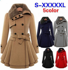 woolen, Women, Fashion, wool coat women