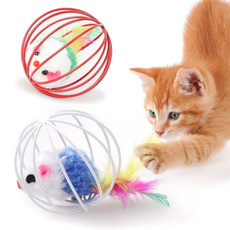 Funny, cattoy, mouseball, Pets