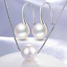 Silver Jewelry, Fashion, Jewelry, Pearl Earrings