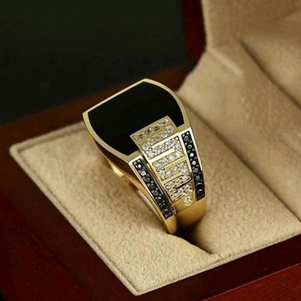 weddingengagement, blackgoldring, DIAMOND, wedding ring