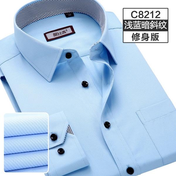 men's dress shirt, Plus Size, Cotton Shirt, Shirt