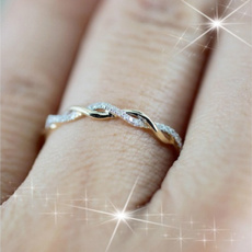 stackablering, Jewelry, gold, Engagement Ring