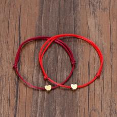couplesbracelet, minimalist, lovely, rope bracelet