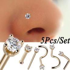 Steel, DIAMOND, Jewelry, piercingjewelry