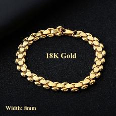 Charm Bracelet, 8MM, Jewelry, Chain