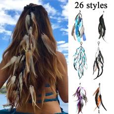 hair, hairringrope, Flowers, hippie