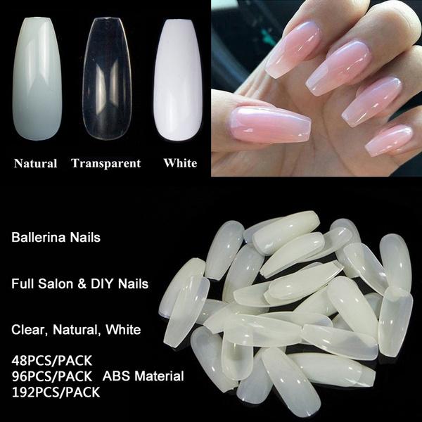 ballerinanail, Ballet, nail art kit, nail tips
