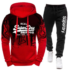 3D hoodies, hooded, pants, track suit